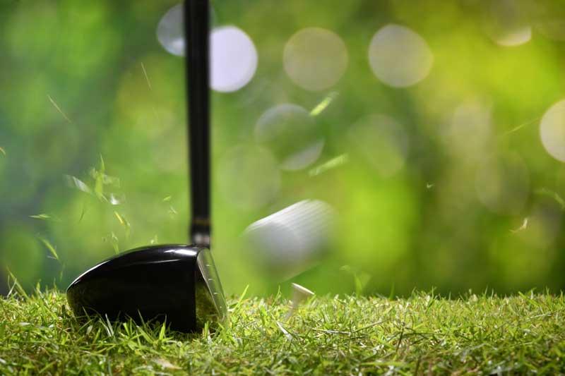 impact au golf