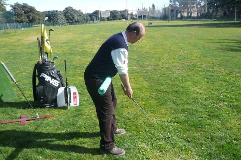 set up au golf