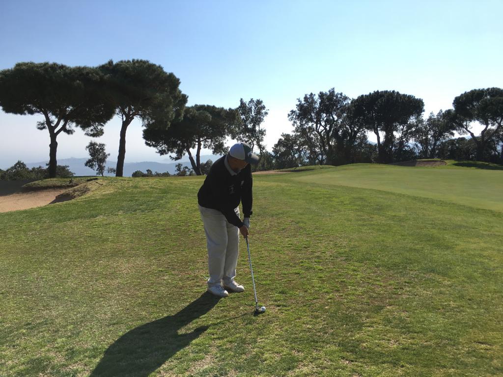 Newsletter jean Luc Pou au golf de mas nou en espagne
