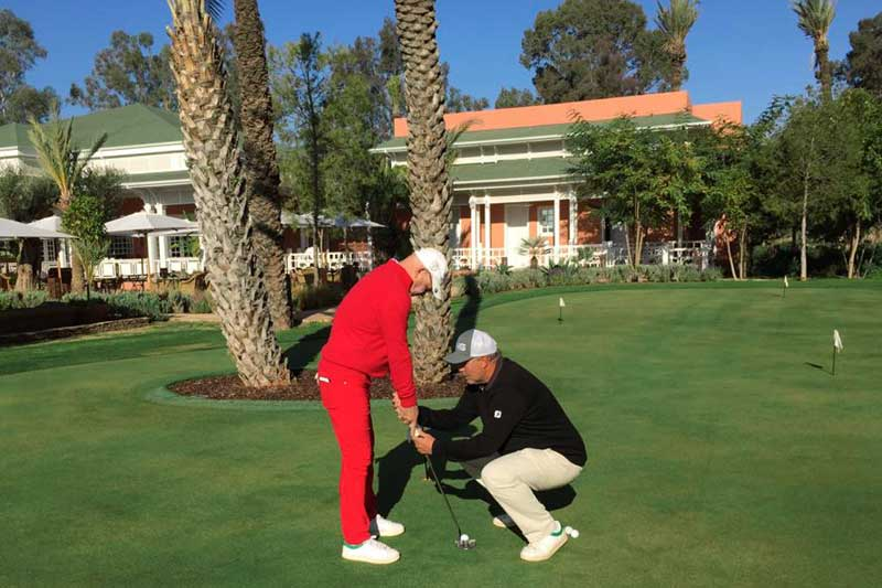 coaching de golf
