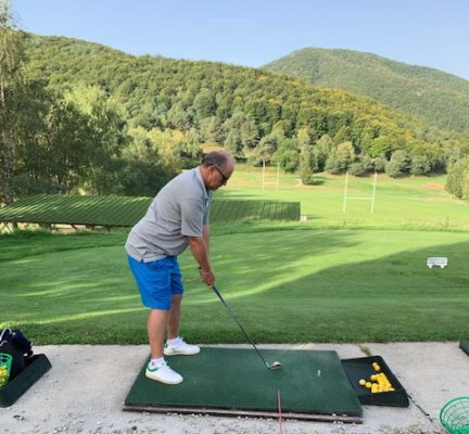 Practice du golf de falgos